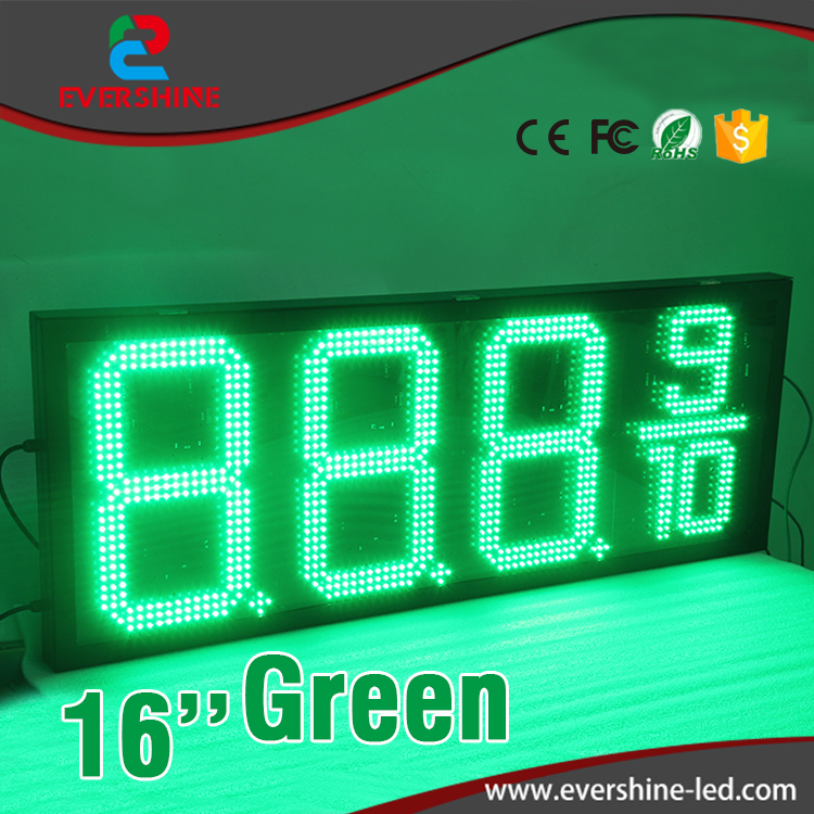 led digital price number board led display 16 inch gas station led sign green led gas price display испанский топор truper ml 4m 14972