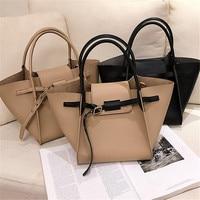 Brand Originality Design Big bag female 2019 new shoulder bag simple Joker Messenger bag large capacity tote bag bag for women