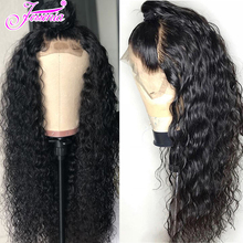 150 Density Peruvian Water Wave Lace Front Human Hair Wigs 13*4 With Baby Pre Plucked Natural Hairline