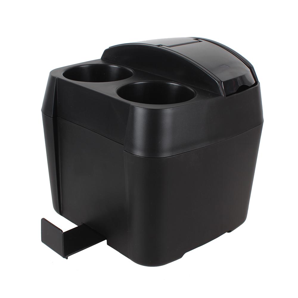 Multifunctional Car Trash Car Styling Black Cup Holder Drink Bottle Can Auto Trash Dustbin Tissue Clip