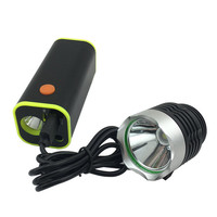 USB Charger 18650 Battery Box LED Light Mobile For Bike Bicycle Light Phone Tablet Audio Player
