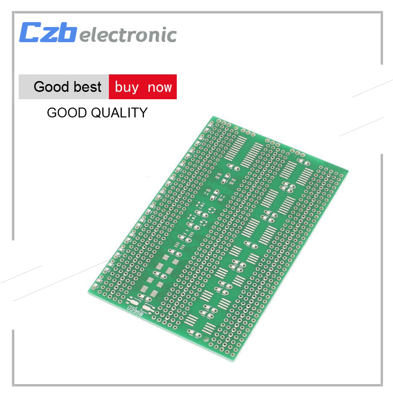 цена на 7x11cm Single Side SMD Prototype Universal PCB Plate Experiment Circuit Board 2.54mm Pin Space 7*11cm Electronic Components