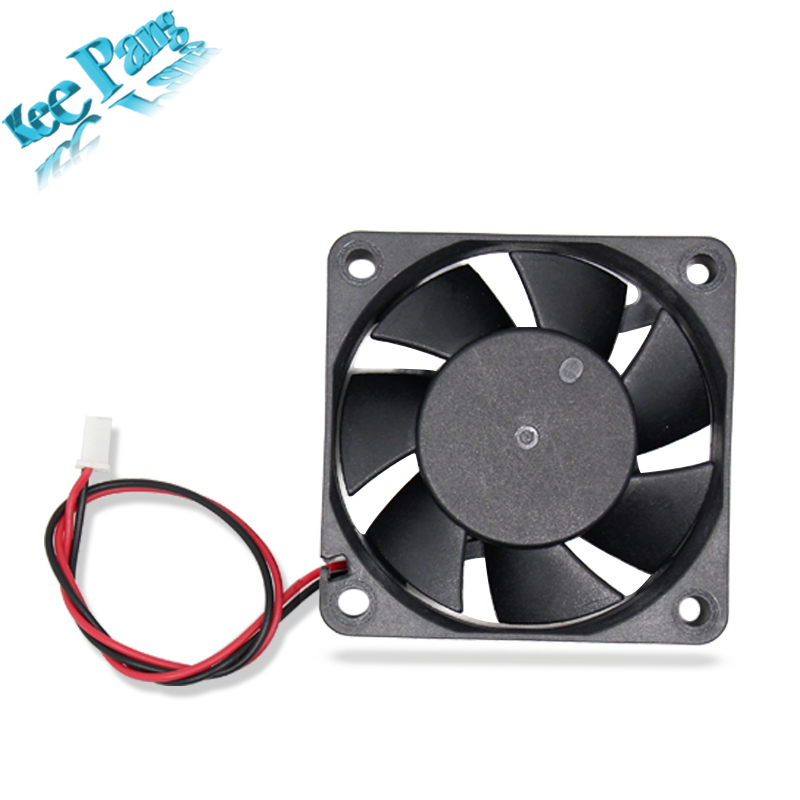5pcs/lot 6015 Cooling Fan 12 Volt 60*60*15 mm 3D Printers Parts 3 pin Brushless 6CM DC Fans Cooler Radiator Part Quiet Accessory 120x120x25mm 12025 fans 12 volt 2pin brushless 12cm dc fans chassis fan cooler cooling radiator