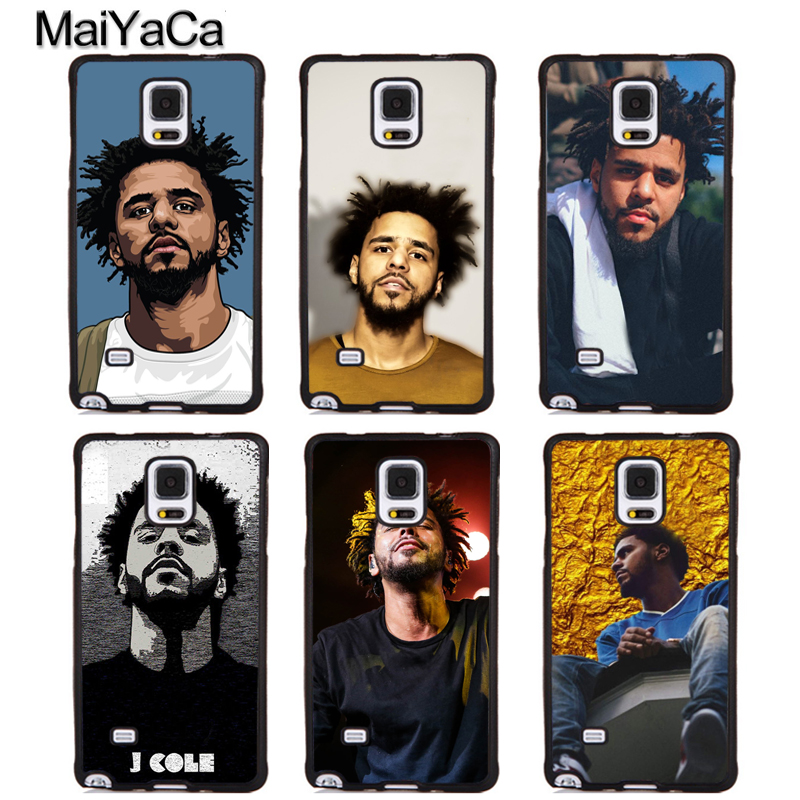 MaiYaCa J Cole Full Protective Phone Cases For Samsung Galaxy S5 S6 S7 edge Plus S8 S9 plus Note 4 5 8 Cover Shell