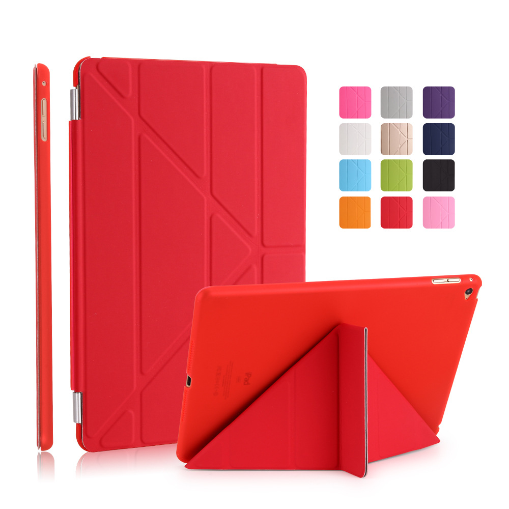 Obedient Multi-fold Pu Leather Smart Cover For Ipad Mini 4 Case For Ipad 2 3 4 Case For Ipad Mini 4 3 2 1 Case With Silicone Soft Back To Enjoy High Reputation In The International Market