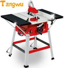 Free shipping 10 inch table saw. Desktop woodworking electric circle. Cutting machine. Electric tools clean chainsaw
