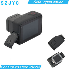 Replacement Side Door USB-C Mini HDMI Port Side Cover Repair Part for GoPro HERO5 HERO6 Hero 5 6 7 For GoPro Accessory