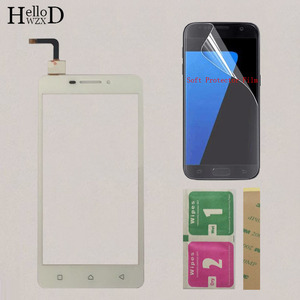Image 3 - Touchscreen Touch Digitizer Panel Sensor For Lenovo Vibe P1M a40 P1ma40 P1mc50 Touch Screen Front Glass TouchPad Protector Film