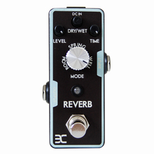 ENO REVERB Guitar Effects Pedal True Bypass Full metal shell Experience any reverbs from Spring