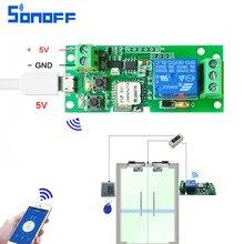 Смарт-коммутатор доступа Wi-Fi 12 В доступа умный дом автоматизация реле Модуль DC5V Jog/самоблокирующимся переключатель телефон Приложение