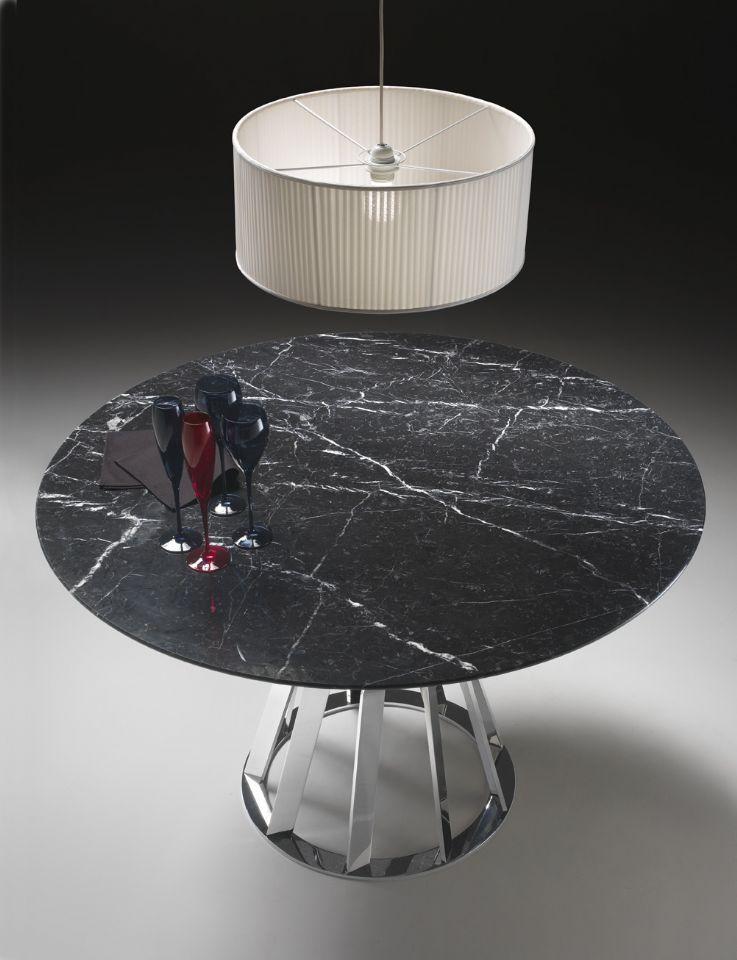 marmor tisch natur travertin esstisch set luxuxqualitats naturlich, Esszimmer dekoo