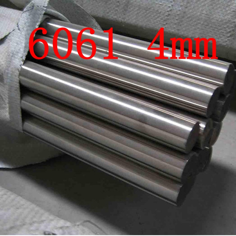 4mm Diameter 6061 T6 AL Aluminium Round Bar MILLING WELDING METALWORKING Bar Aluminium Bars