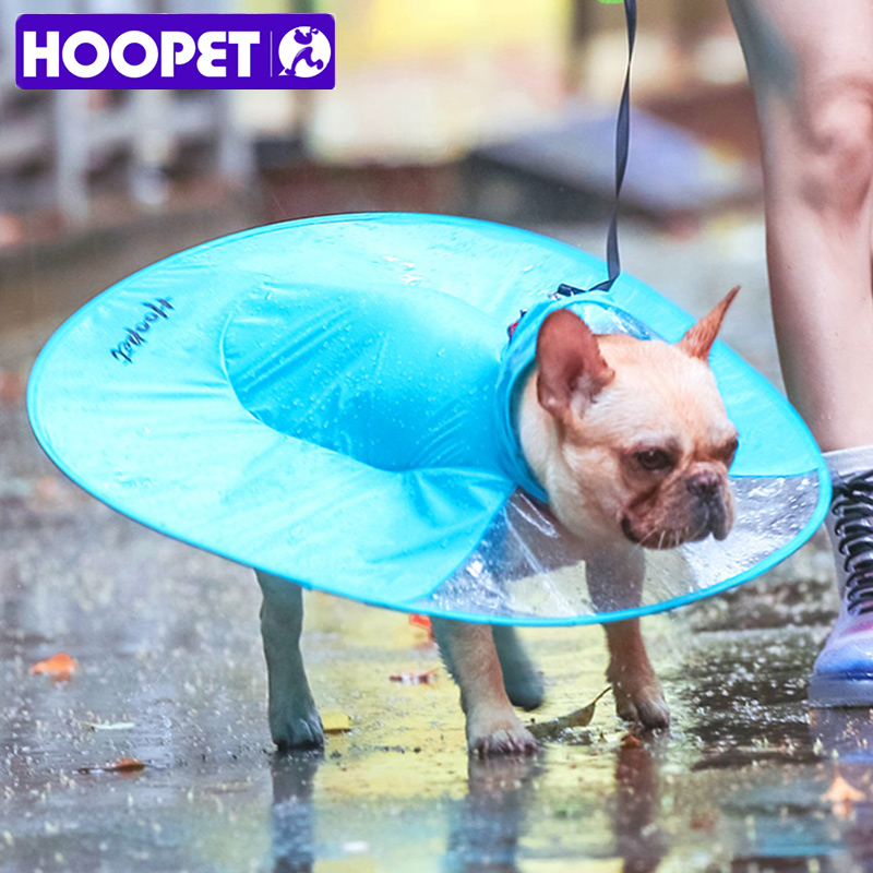 HOOPET Pet Dog Rain Coat Clothes Raincoats For Dogs Puppy Casual Waterproof Costumes