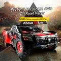 Original WLtoys 12423 Carro RC 1/12 2.4 GHz de Alta Velocidade Carro de Controle Remoto 4WD Simular a Estrutura e controle