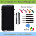 LL TRADER Highscreen Black Full LCD Replacement For HTC One M8 LCD Display Touch Screen Assembly Digitizer With Frame+Free tools