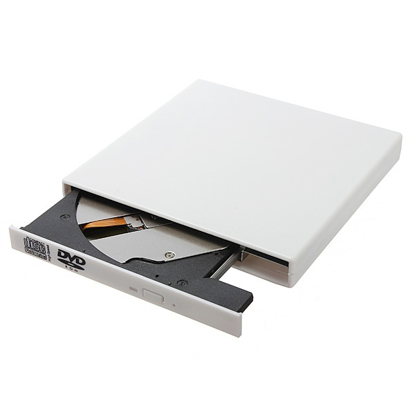 PROMOTION! New USB 2.0 External DVD Combo CD RW Drive CD+/ RW DVD ROM for PC Laptop (White) цена