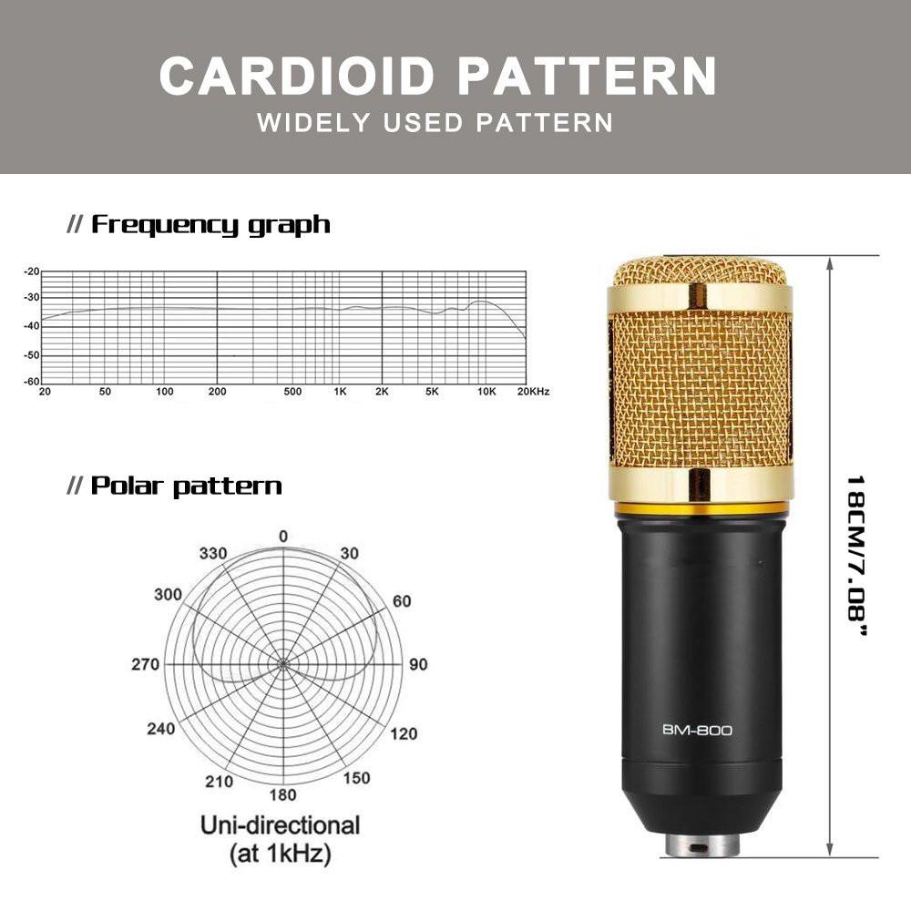 BM 800 Condenser Microphone 3