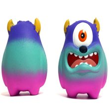 Squishy Strange Slow Rebound Big Mouth and Big Eyes Decompression Vent Slow Rising Antistress Toy Novelty Toy Children Squishies(China)