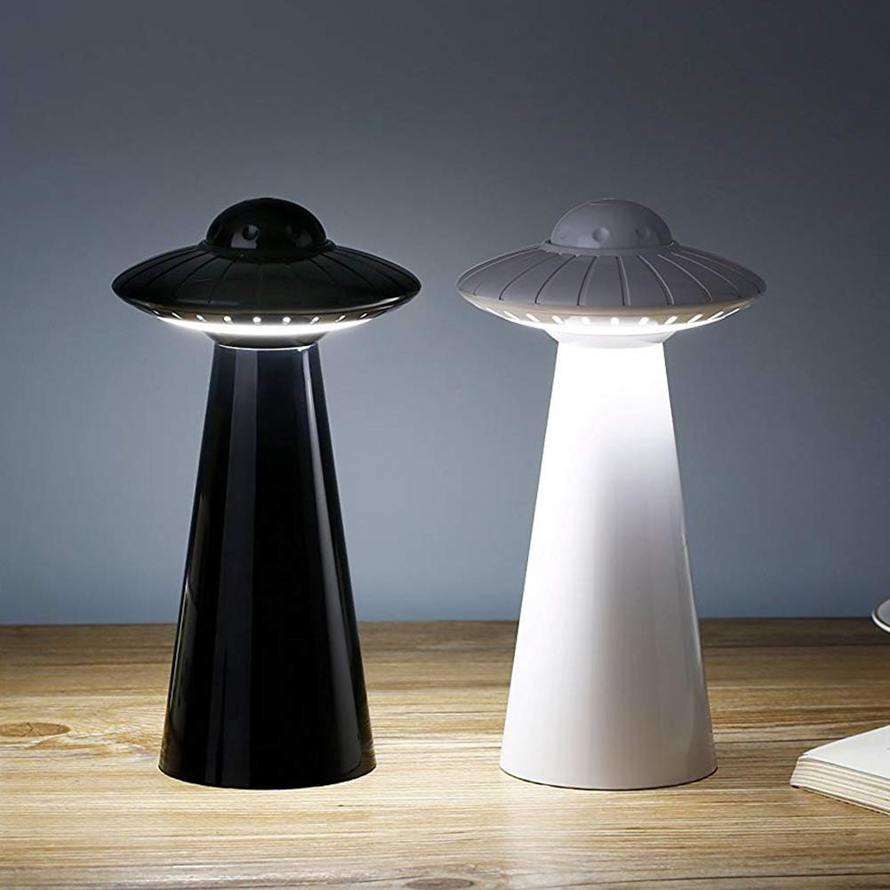 UFO Design USB Rechargeable LED Table Lamp Dimmable Reading Flicker-free Light Hot