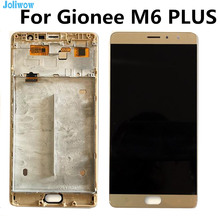 LCD For Gionee M6 PLUS  GN8002S LCD Display+Touch Screen with frame Digitizer Assembly Replacement Accessories