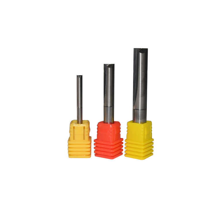 3.175mm double edged straight slot milling cutter straight edge knife straight slot bit for PVC density board EVA foam carving