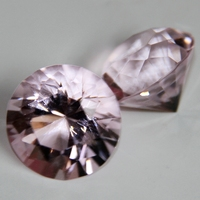 20mm pink 80 pieces Crystal Diamond ,Diamond Paper Weight for Valentines Souvenirs