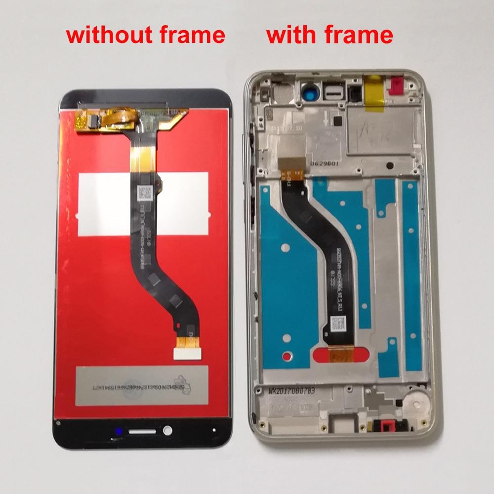 Para Huawei P8 Lite 2017 PRA-LX3 PRA-LX1 PRA-LA1 P9 lite 2017 Display LCD de Tela LCD Tela de Toque Digitador Assembléia Sensor quadro