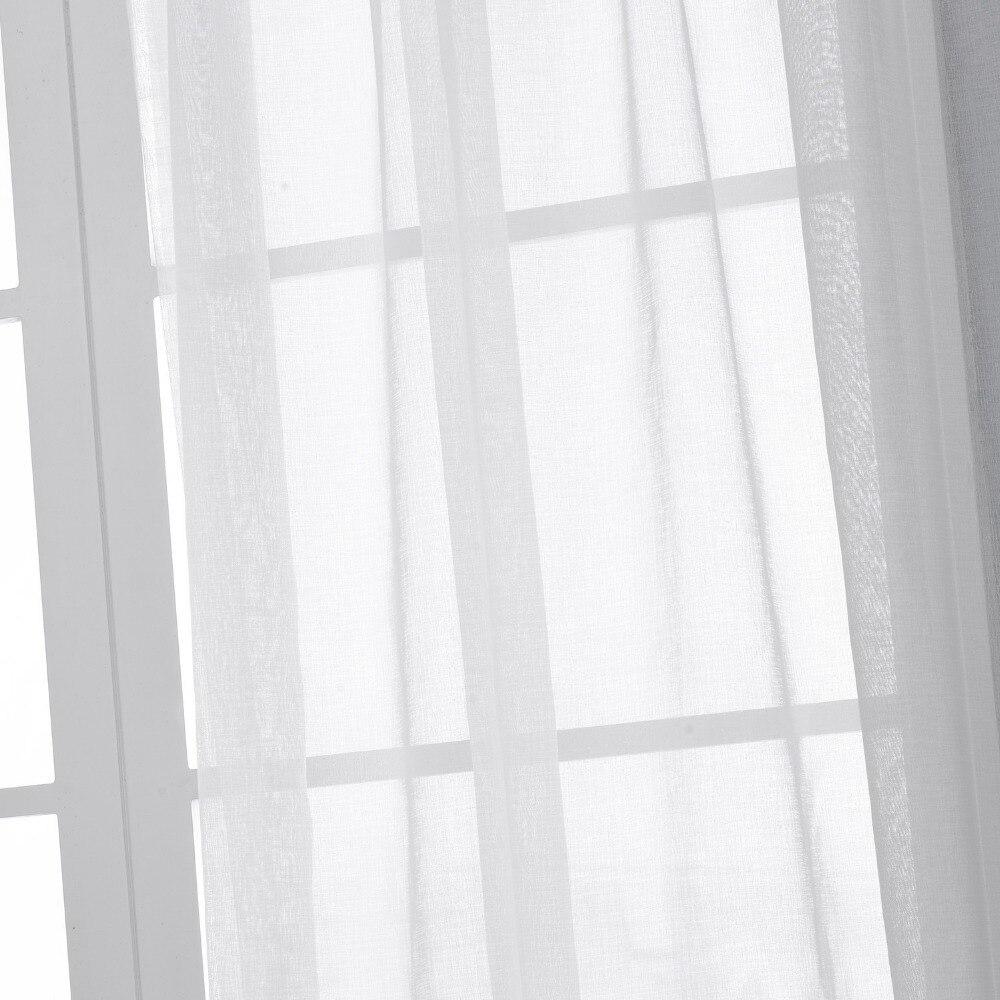 Cortinas Blancas Modernas Trendy Si No Te Gustan Los Estampados Muy