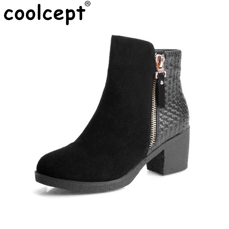 women real genuine leather high heel ankle boots half short botas autumn winter boot warm brand footwear shoes R7554 size 34-39 women pointed toe real genuine leather high heel ankle boots autumn winter wedding boot heels footwear shoes r7976 size 34 39