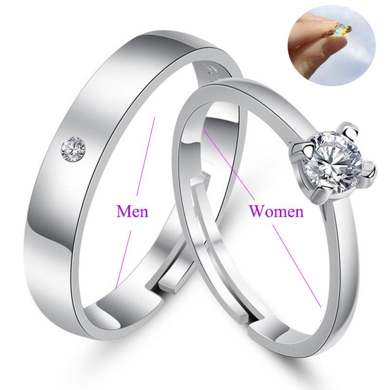 Qevila Ring 2019 New Fashion Romantic Wedding Ring Jewelry Cubic Zirconia Ring for Women Men Anillos Bague Femme Original Design (28)