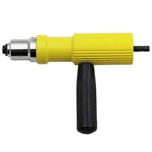 Image 3 - Neue 2,4mm 4,8mm Elektrische Niet Mutter Pistole Nieten Werkzeug Cordless Nieten Bohrer Adapter Einsatz Mutter Werkzeug Nieten bohrer Adapter