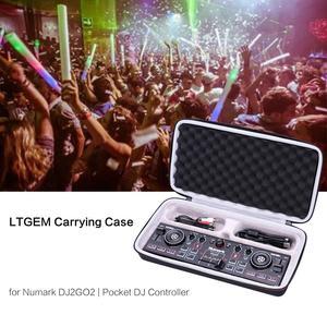 Жесткий чехол для переноски LTGEM EVA, для контроллера Numark DJ2GO2/Pocket DJ