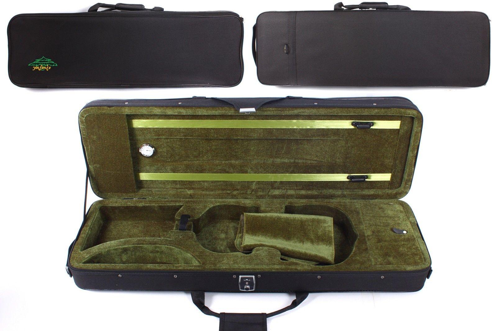 4/4 Violin Case Violin Box Wooden Struct Light Strong Sheet Bag Full Size Violin Accessory