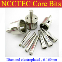 100mm 4'' inch Electroplated diamond core drill bits home depot ECD100 FREE shipping | WET glass concrete coring bits