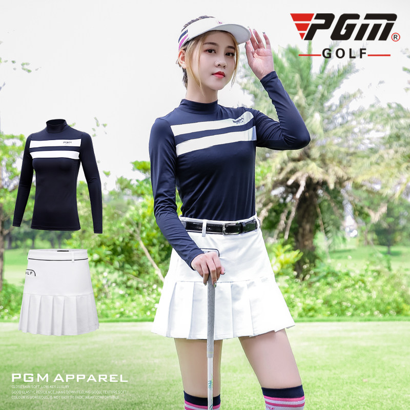 Sports/ Leisure Clothes Women's Autumn /winter Warm Bottoming Shirt Long-sleeved T-shirt Trainning Lady Suit Golf/Tennis Apparel