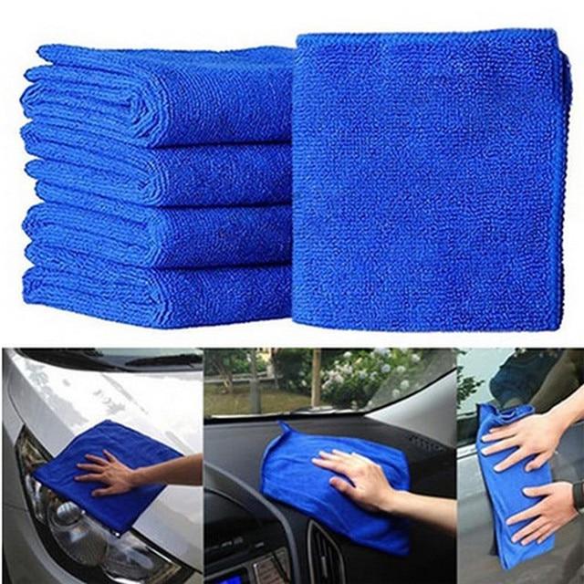 רכב סטיילינג מיקרופייבר מטליות רכב לשטוף חדש מעשי כחול רך סופג לשטוף בד רכב טיפול האוטומטי td28 Dropship
