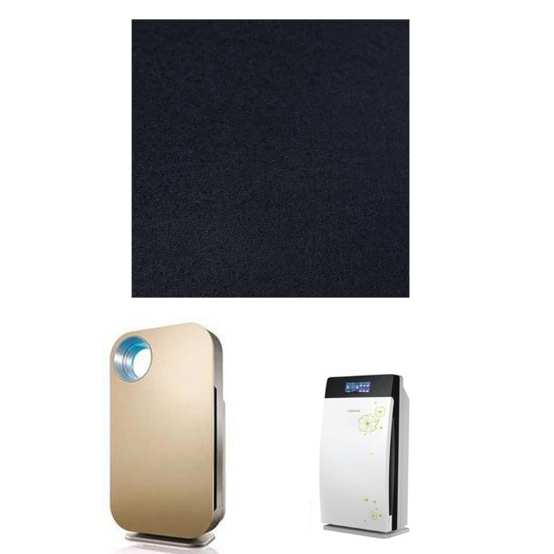 Air Conditioner Activated Carbon Purifier Pre Filter Fabric 100cm*100cm*3mm