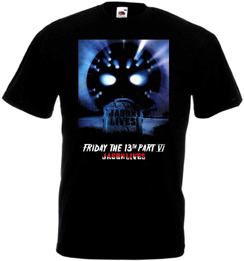 Friday The 13 v31 T-Shirt all sizes S-5XL BLACK