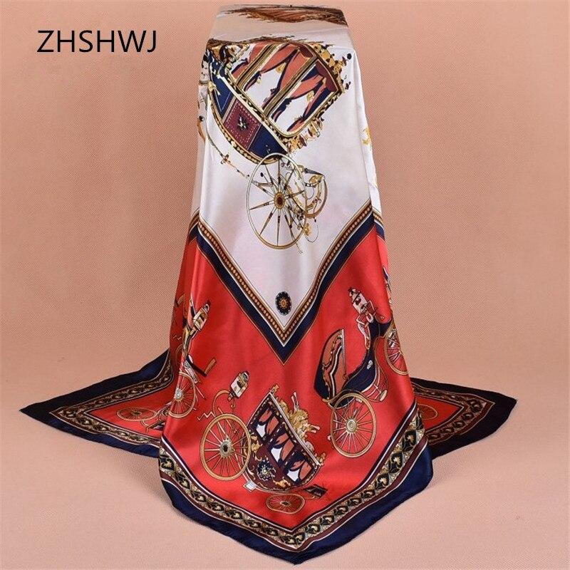 [ZHSHWJ]90 * 90CM women's scarfs