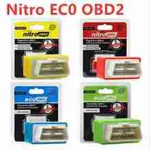 NitroOBD2 Gasoline Benzine Cars Nitro OBD2 /EcoOBD2 ECU Chip Tuning Box Box Plug & Driver For Cars 15% up to Fuel Save single benzine cars obd2 performance chip tuning box 35