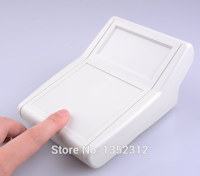 Free shipping 2 pcs/lot 156*114*79mm ABS plastic electronics handheld enclosures plastic enclosure housing DIY project box