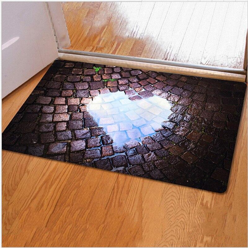 Teppich Eingang 40 60 cm 3d fußmatte falle gedruckt teppich eingang fußmatten
