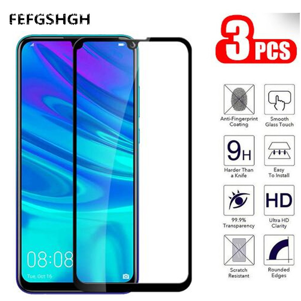 Full Cover For <font><b>Huawei</b></font> P Smart 2019 Tempered <font><b>Glass</b></font> on For <font><b>Huawei</b></font> P Smart 2019 P Smart Plus 6.3 <font><b>2018</b></font> <font><b>Psmart</b></font> Safety Protective Glas image