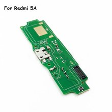 For Xiaomi Redmi 5A USB Charger Charging Port Ribbon Flex Cable Microphone USB Dock Connector Board Replacement Repair Parts