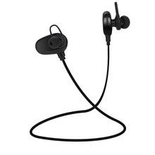 QAIXAG auriculares deportivos inalámbricos Bluetooth CSR programa en la oreja auriculares Bluetooth accesorios de teléfono móvil negro
