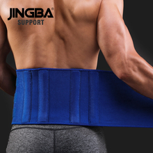 JINGBA SUPPORT Fitness belt Back waist support Sweat trainer Women trimmer Weight Loss slimming neoprene