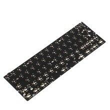GH60 64 Minila PCB Fully Programmable For DIY Mechanical Keyboard YD60 Poker HHKB Support LED