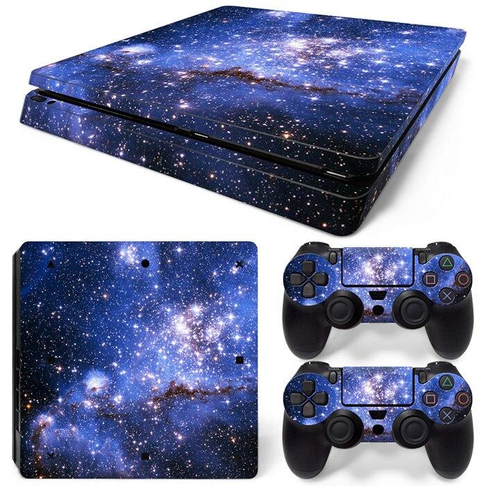 כחול היקום מדבקות סקינס עבור Ps 4 סלים - משחקים ואביזרים