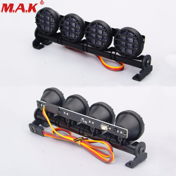 506W Aluminum RC Car Multi Function LED White Light Bar fit 1/8 or 1/10 Scale Car Model Toys Accessory image