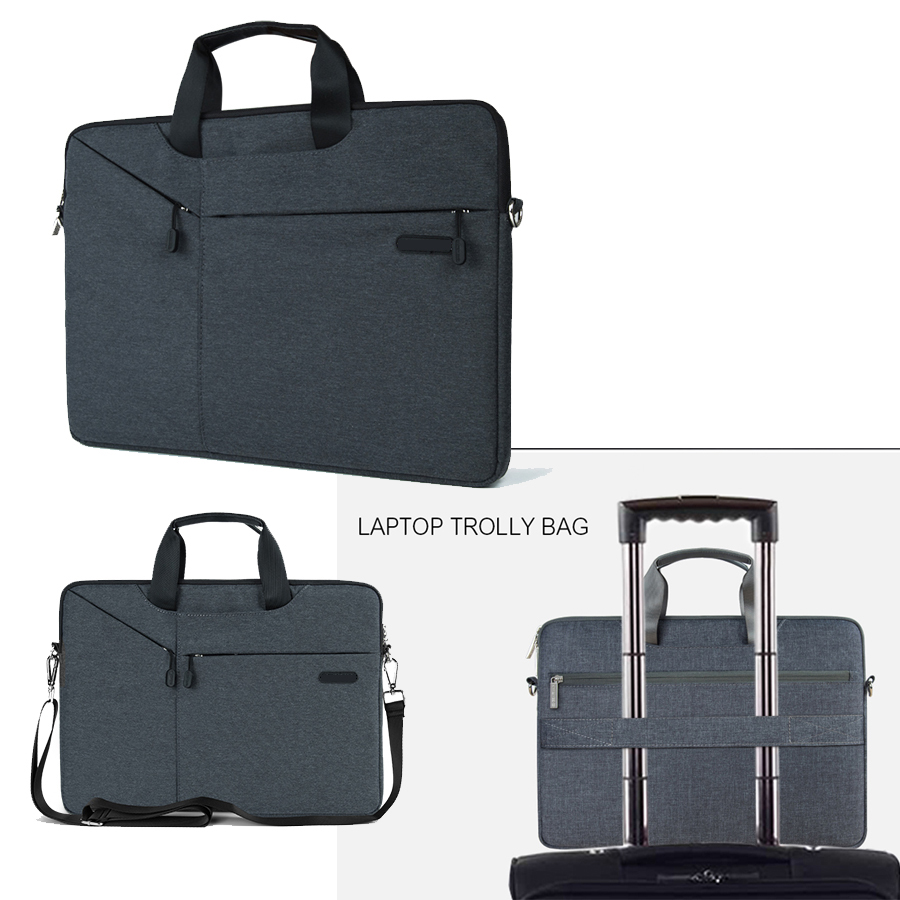 Multi use Notebook Case for HP Envy Spectre X360 13.3 Pavilion Omen 14 15 Laptop Cover Waterproof Shoulder Hand Bag 15.6 Sleeve